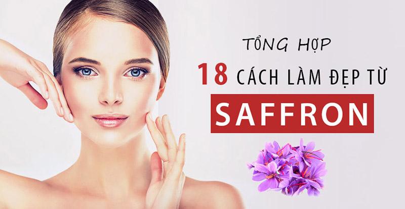 cách sử dụng saffron