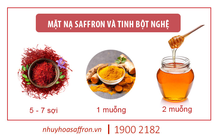 cách dùng saffron