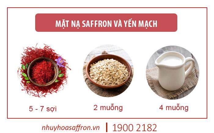 cách sử dụng saffron iran làm đẹp