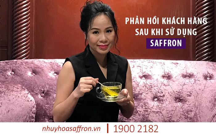 phản hồi khách hàng sử dụng nhụy hoa nghệ tây Saffron