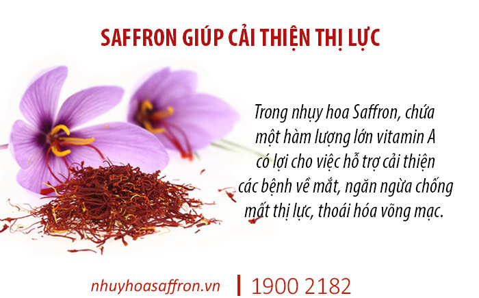 saffron chua mat ngu