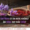 saffron co an duoc khong